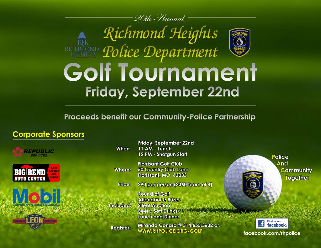 PACT Unit Golf Tournament @ Florissant Golf Club | Florissant | Missouri | United States